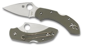 Dragonfly Foliage Green G-10 PlainEdge.. MAP $122.50